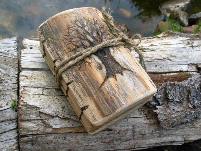 Деревянный переплет книги своими руками