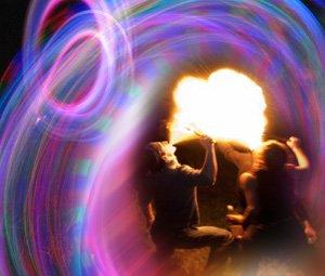 Огненные и неоновые представления