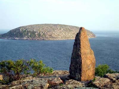 Один из островов Белого моря